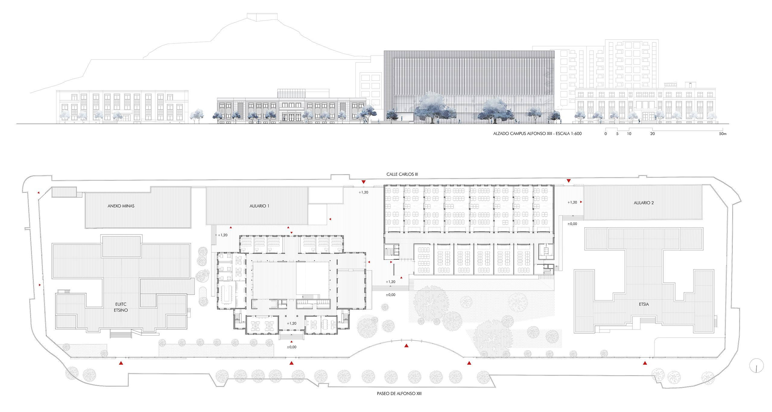 Nueva escuela t cnica de arquitectura superior y for Escuela tecnica superior de arquitectura